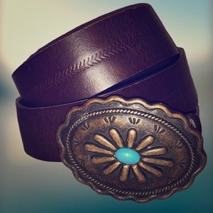 Accessories - Beautiful country western style belt EUC